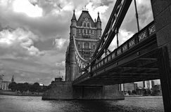 Tower Bridge Black & White Stock Photography