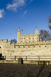 Tower Bridge castle, London Royalty Free Stock Images