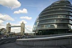 Tower bridge city hall london england uk royalty free stock photos
