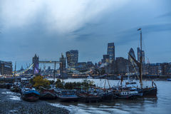 Tower Bridge and the City of London Stock Photography