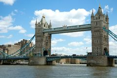 Tower bridge in London UK Stock Photos