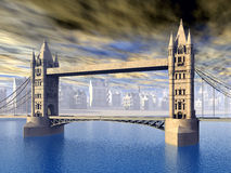 The Tower Bridge Stock Photography