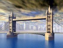 The Tower Bridge Stock Photography