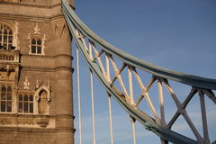 Tower Bridge Detail Stock Images