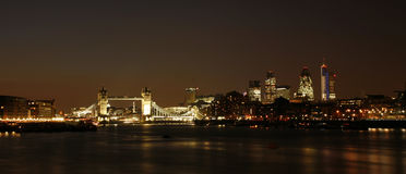 Tower Bridge at dusk Royalty Free Stock Photos