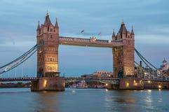 Tower Bridge at dusk Royalty Free Stock Photography
