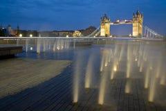Tower Bridge at dusk. Royalty Free Stock Images