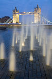 Tower Bridge at dusk. Royalty Free Stock Photos
