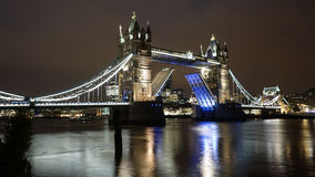 Tower Bridge at dusk Royalty Free Stock Photos