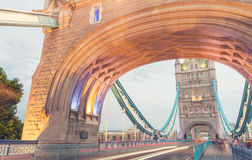 The Tower Bridge at dusk, London Stock Photography