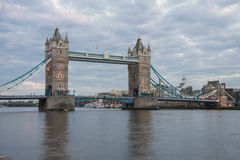 Tower Bridge at dusk, London Royalty Free Stock Photo