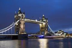 Tower Bridge at Dusk Royalty Free Stock Photo