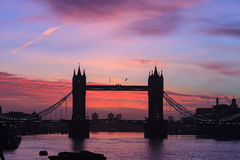 Tower Bridge at dusk ,London United Kingdom Royalty Free Stock Photography