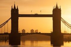 Tower Bridge at dusk ,London United Kingdom Stock Image