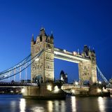 Tower Bridge at Dusk Royalty Free Stock Photo