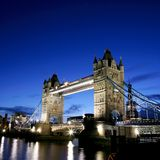 Tower Bridge at Dusk Stock Image