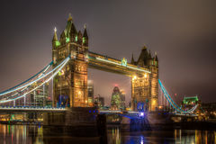 Tower Bridge in the early morning Royalty Free Stock Photography