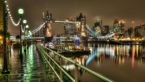 Tower Bridge in the early morning Royalty Free Stock Image