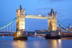 Tower Bridge England Stock Photography