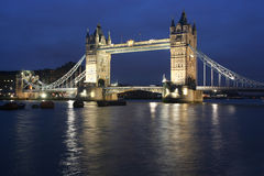 Tower Bridge Evening Stock Photo