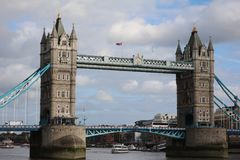 Tower Bridge. Famous place in london Stock Image