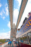 Tower Bridge on foot Royalty Free Stock Images