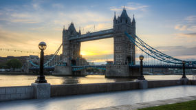Tower bridge HDR Stock Photo