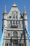 Historic Tower Bridge on the river Thames Royalty Free Stock Photos