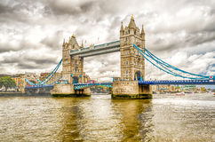 Tower Bridge, Historical Landmark in London Royalty Free Stock Photos