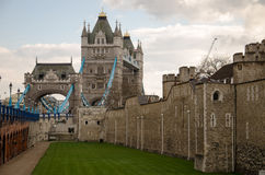 Tower Bridge II stock image