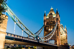 Tower Bridge In London, England Stock Image
