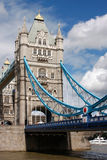 Tower Bridge In London, UK In A Beautiful Summer D Royalty Free Stock Photo