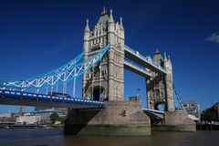 Tower Bridge in London Royalty Free Stock Photos