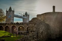 Tower Bridge, London Royalty Free Stock Photography