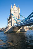 The Tower Bridge in London Stock Photos