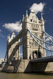 Tower Bridge, London. A view of Tower Bridge, London, U.K Stock Photography