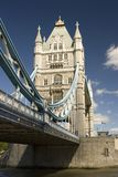 Tower Bridge, London. A view of Tower Bridge, London, U.K Royalty Free Stock Images