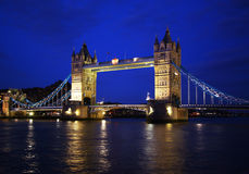 Tower Bridge in London. Tower Bridge over the River Thames in London royalty free stock photo