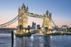 Tower Bridge, London. Royalty Free Stock Photos