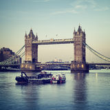 Tower Bridge, London. stock photo