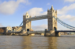 Tower Bridge London. A view of Tower Bridge London Stock Images