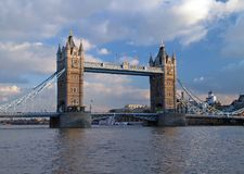 The tower bridge in london royalty free stock photo