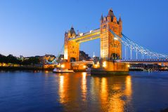 Tower Bridge of London Stock Image