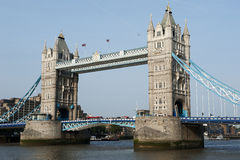 The tower bridge in London Royalty Free Stock Image