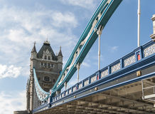 Tower Bridge, in London. Stock Photography