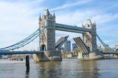 Tower Bridge, London. A view of Tower Bridge, London, England Stock Photography