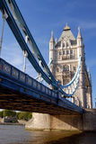 Tower Bridge, London. The beautiful Tower Bridge over the river Thames in London Stock Image