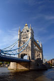 Tower Bridge, London. The 'must see' Tower Bridge over the river Thames in London Stock Photo