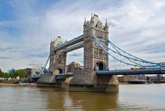 The Tower Bridge in London. The Tower Bridge, a famous victorian landmark in London Stock Photos