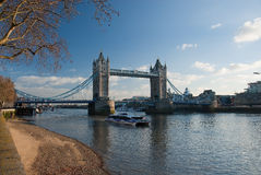 Tower Bridge. In the London royalty free stock photography